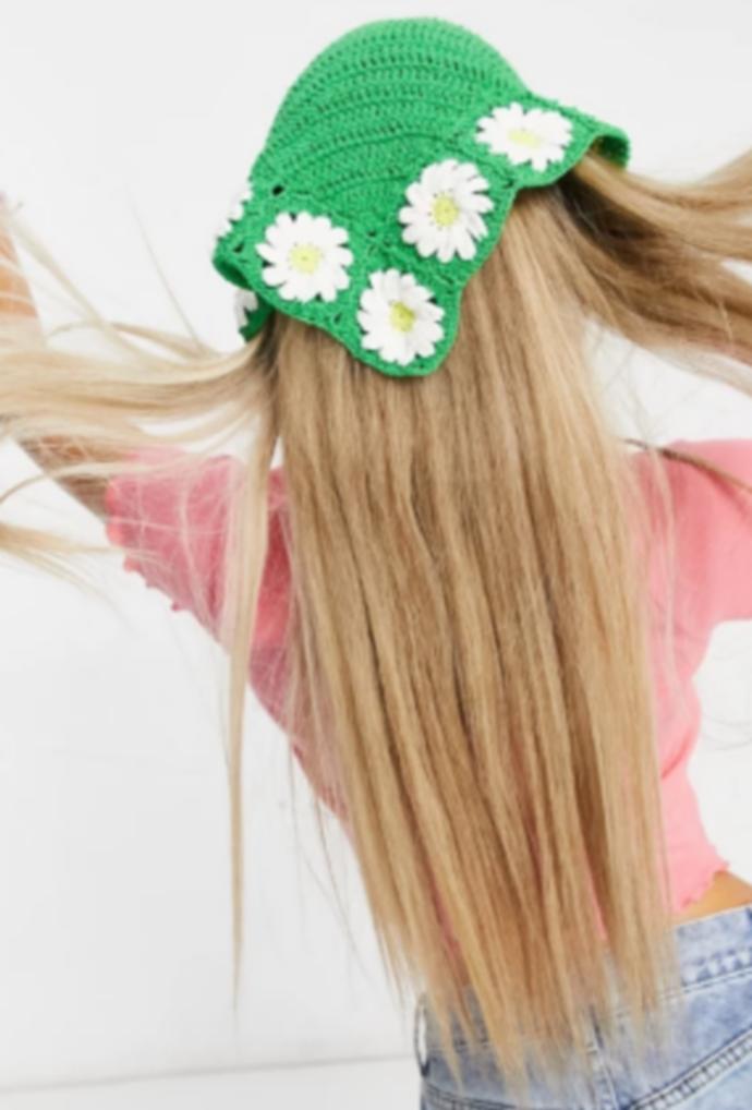 crochet μαντίλι για τα μαλλιά