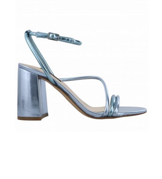 Πέδιλα με block heels