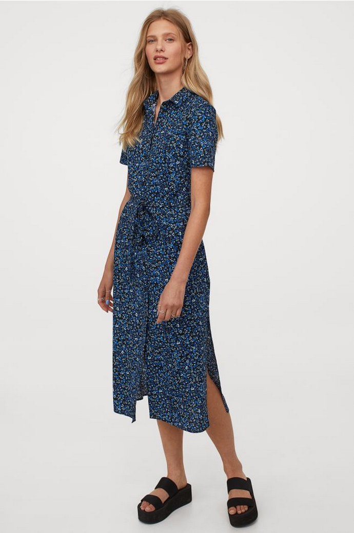 σεμιζιέ φόρεμα