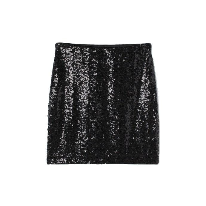 H&M shimmering, mini φούστα