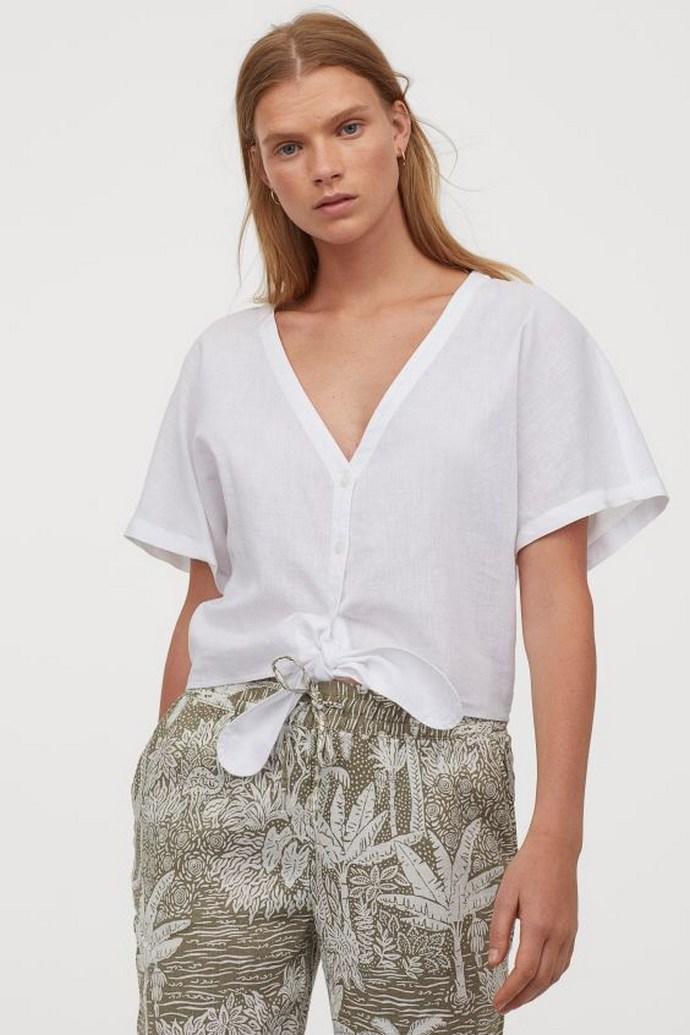 Μπλούζα- Desmond & Dempsey x H&M