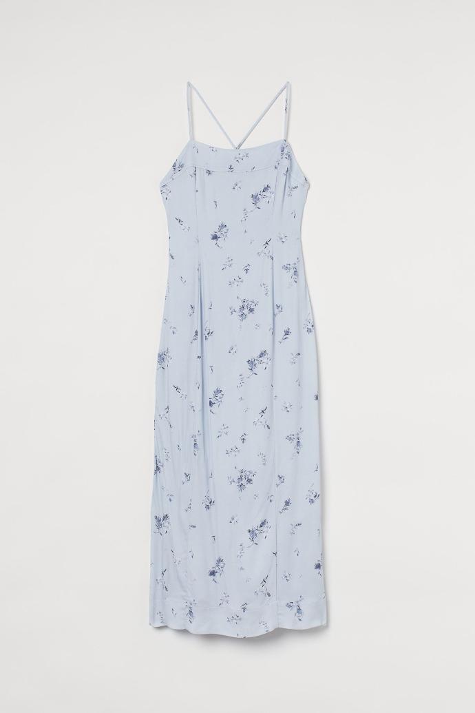 μίντι φόρεμα με ανοιχτή πλάτη