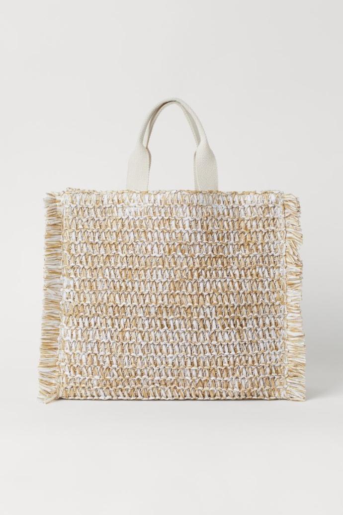 Ψάθινη τσάντα shopper