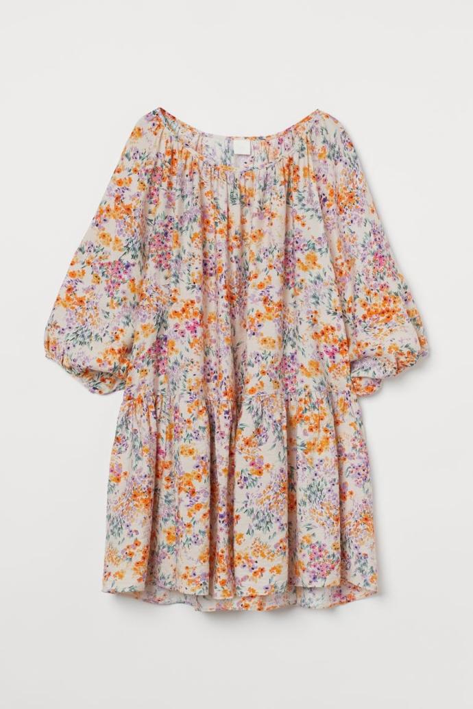 μίνι φόρεμα σε χαλαρή γραμμή
