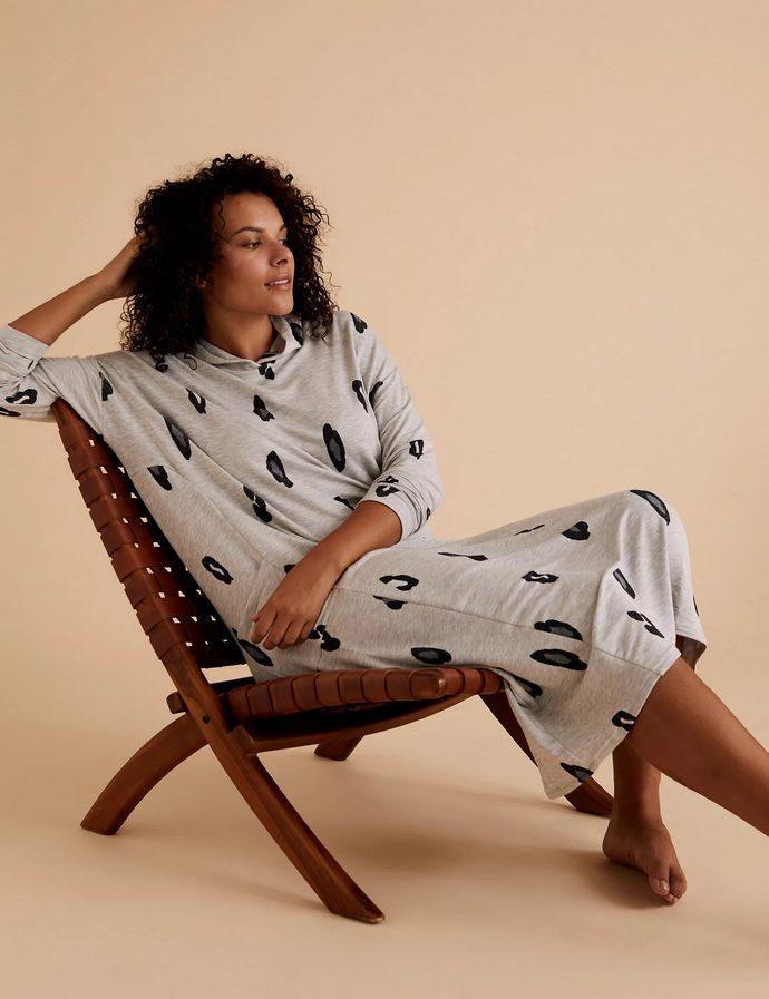 Animal Print Lounge Dress