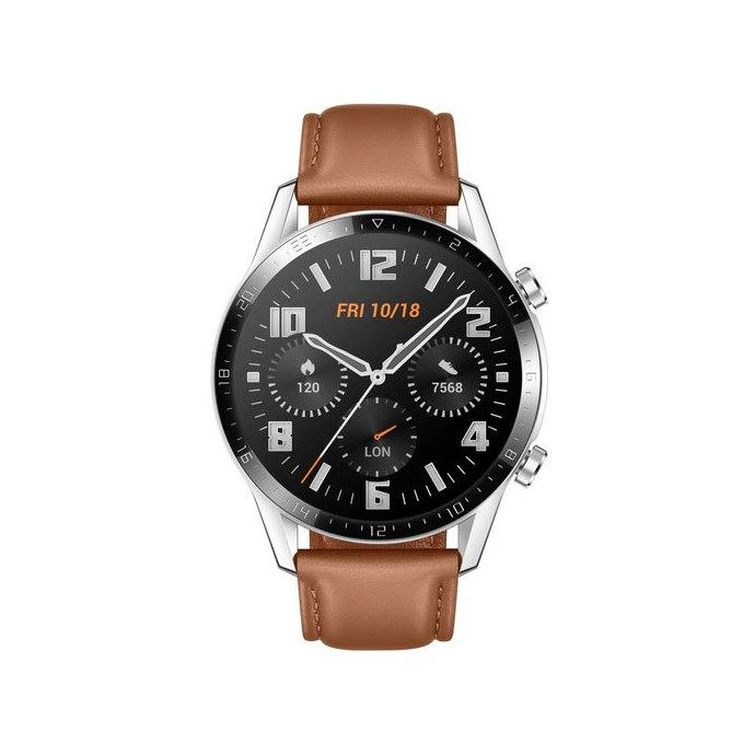 Huawei Watch GT 2 Brown Leather SmartWatch