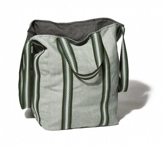 Beach Bag σε απόχρωση olive green
