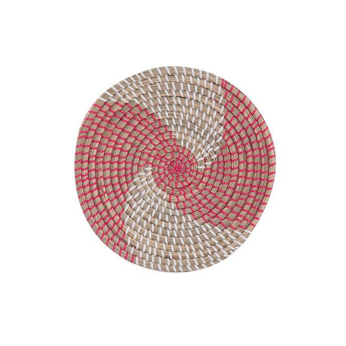 Πιάτο Τοίχου D.28Cmx6 Nef Nef Noble Coral/White