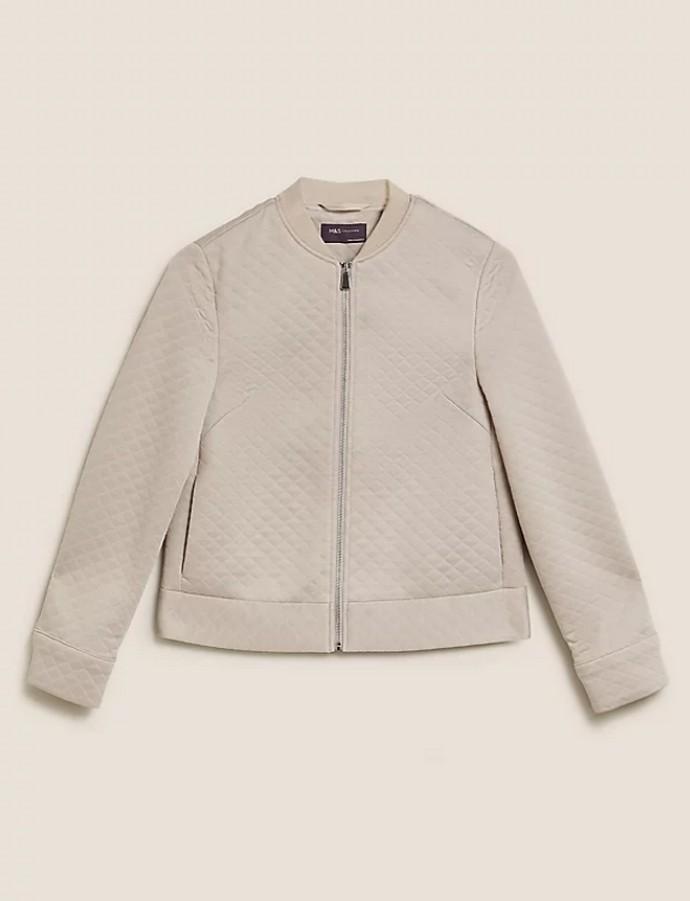 Ζέρσεϊ καπιτονέ jacket