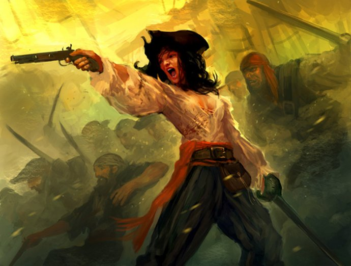γυναίκες πειρατές