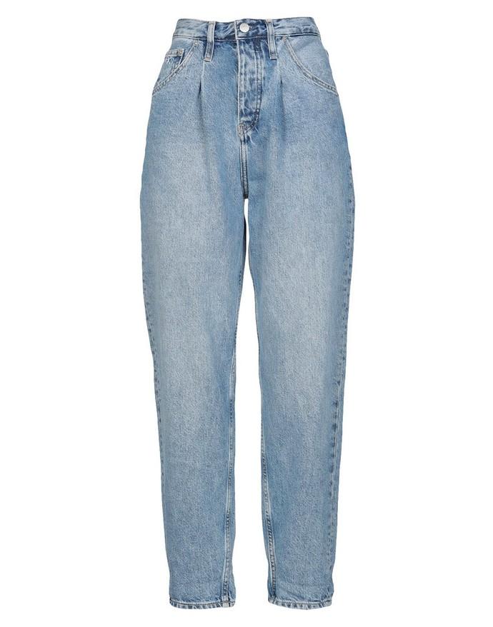 Τζιν παντελόνι με πιέτες