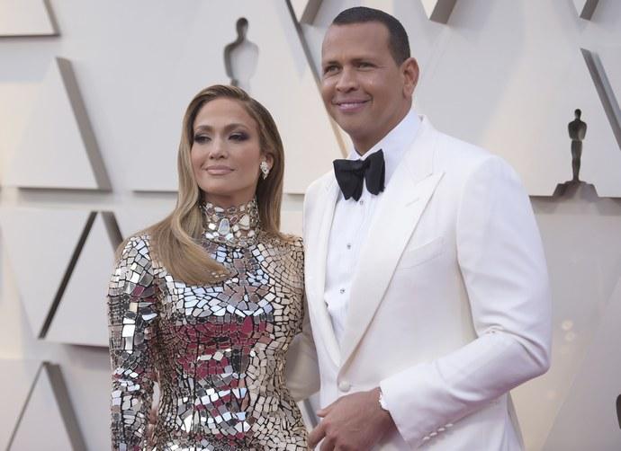 H Jennifer Lopez με τον Alex Rodriguez
