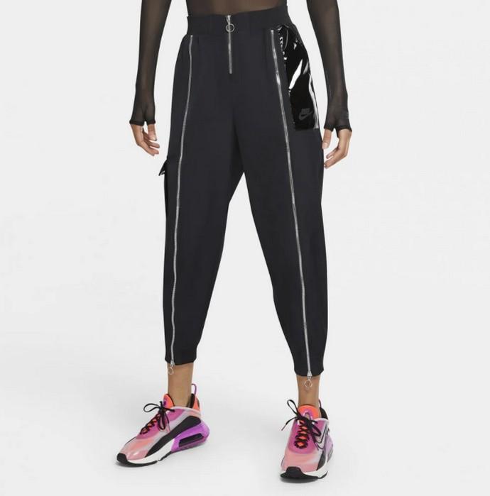 Jogger pants με φερμουάρ