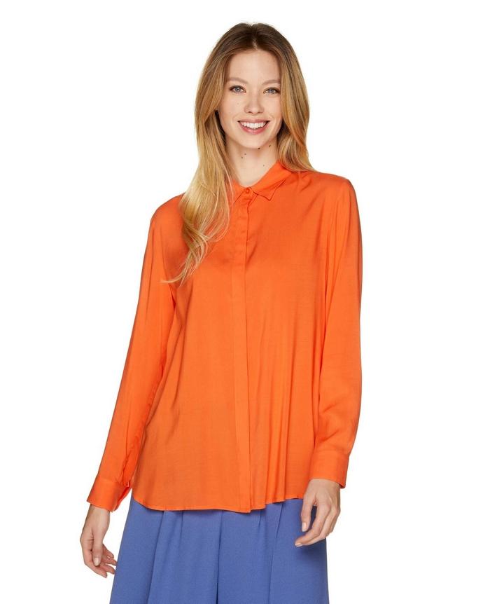 πορτοκαλί πουκάμισο