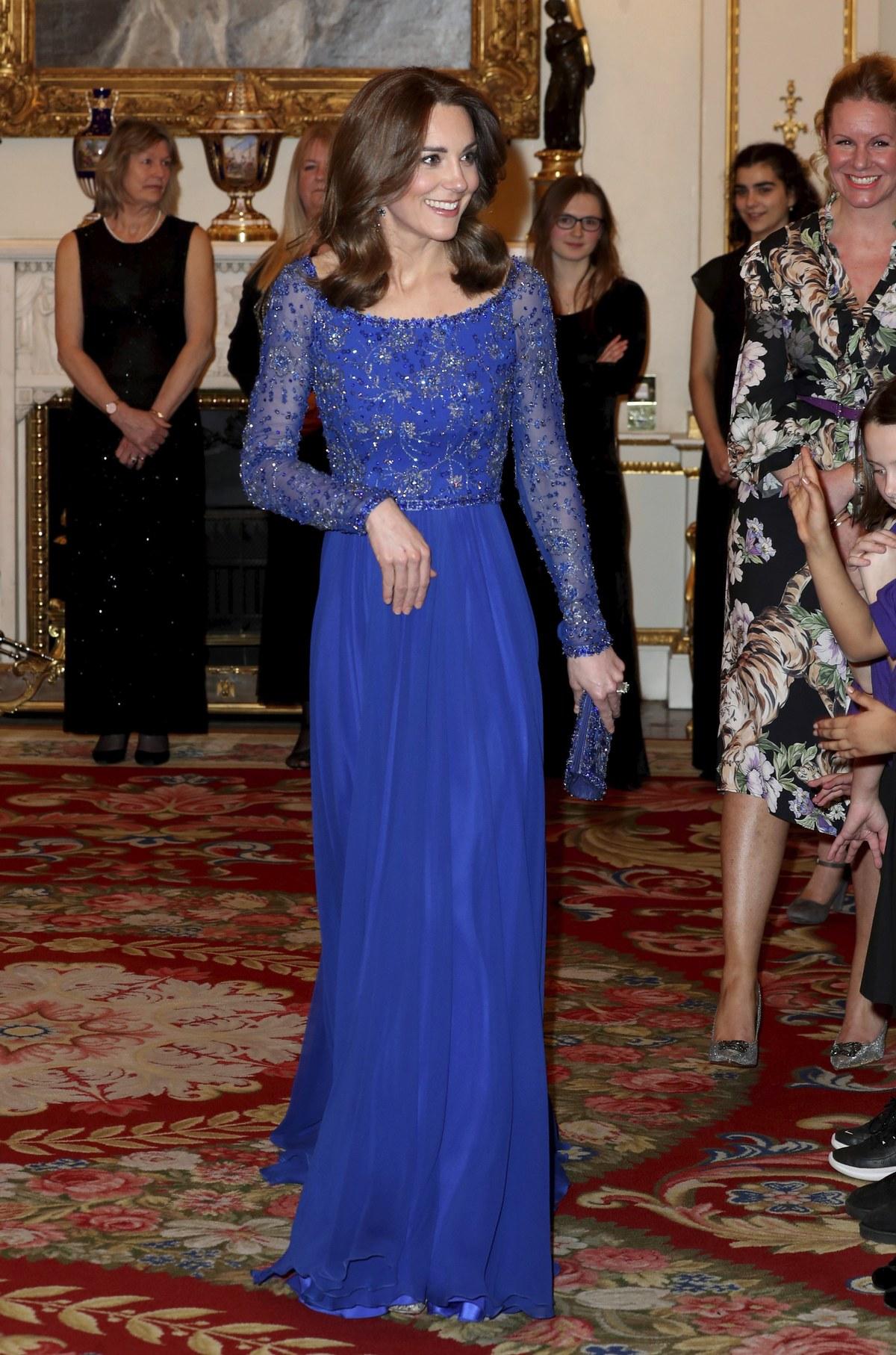 Kate Middleton: Φόρεσε για δεύτερη φορά το Jenny Packham φόρεμά της
