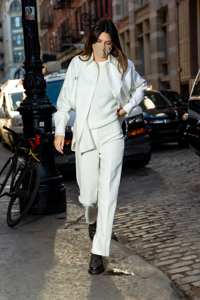 Kendall Jenner λευκό