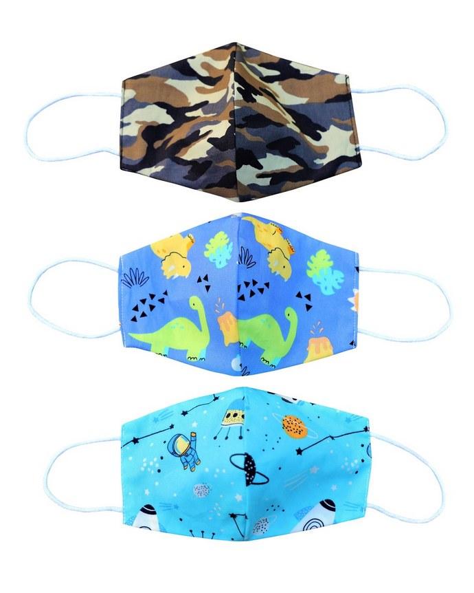 Επαναχρησιμοποιήσιμες μάσκες με prints