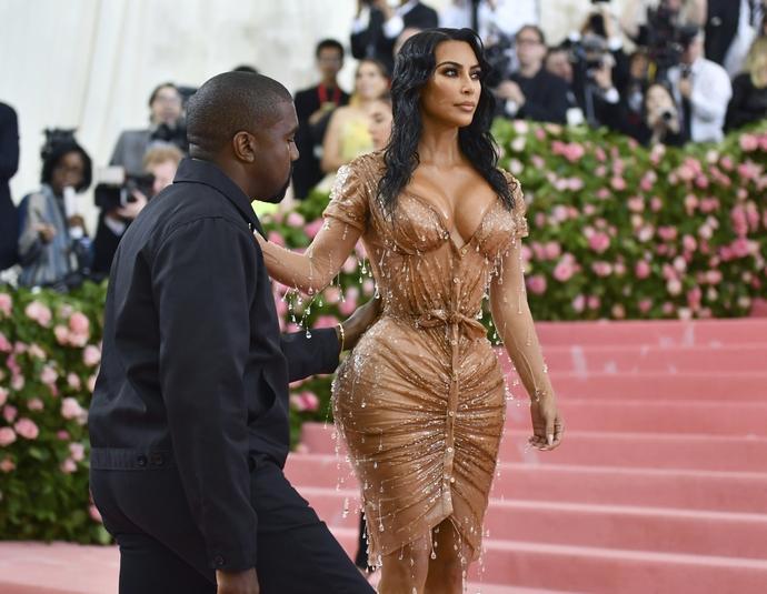 Kim Kardashian και Kanye West στο Met Gala