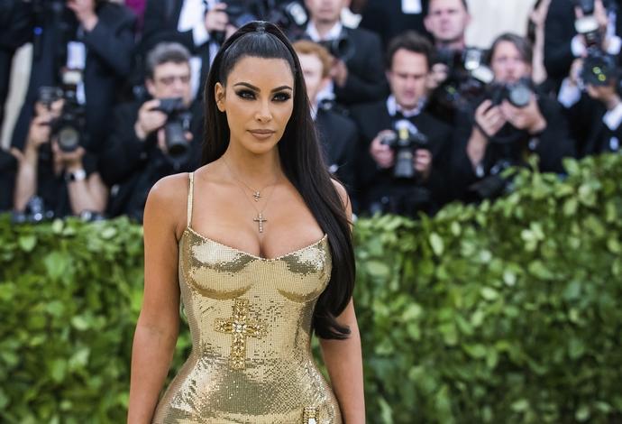 Η Kim Kardashian στο Met Gala