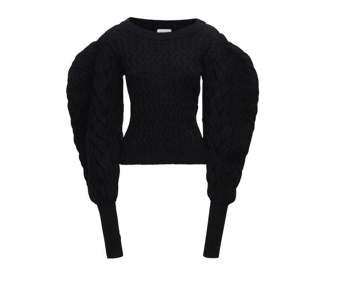 Πλεκτό cable knit πουλόβερ
