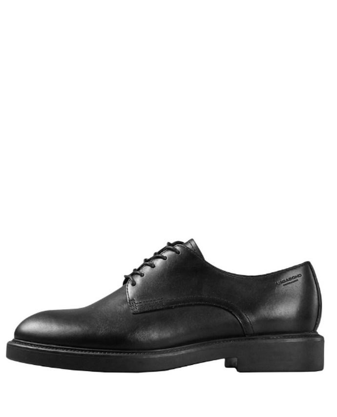 Alex W μαύρα derby παπούτσια