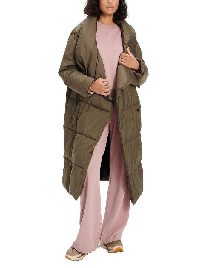 Puffer jacket σε καφέ χρώμα