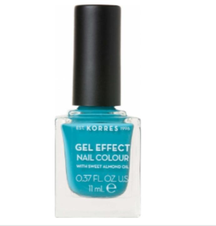 KORRES GEL EFFECT Nail Colour Pool Waves No 82