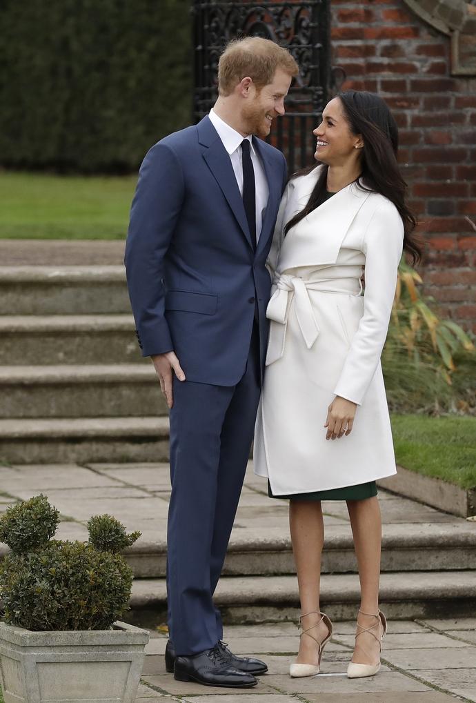 Ο Πρίγκιπας Harry και η Meghan Markle όταν ανακοίνωσαν τον αρραβώνα τους το 2017