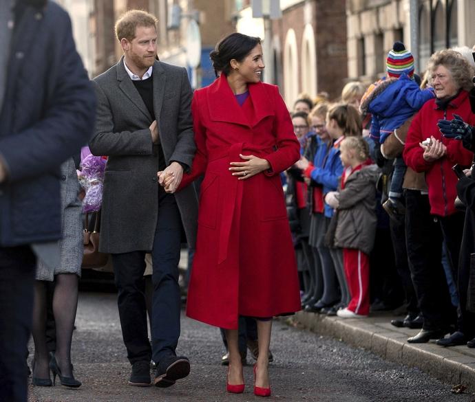Ο Πρίγκιπας Harry και η Meghan Markle στο Λονδίνο τον Ιανουάριο του 2019