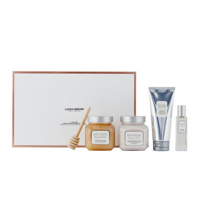 Laura Mercier Luxe Ultime Ambre Vanille Luxe Body Collection Set
