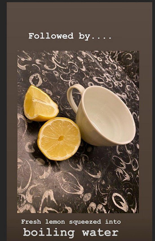 νερό με χυμό λεμόνι