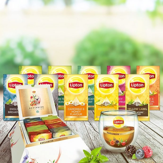Πλήρες Σετ Τσάι Lipton Exclusive Selection