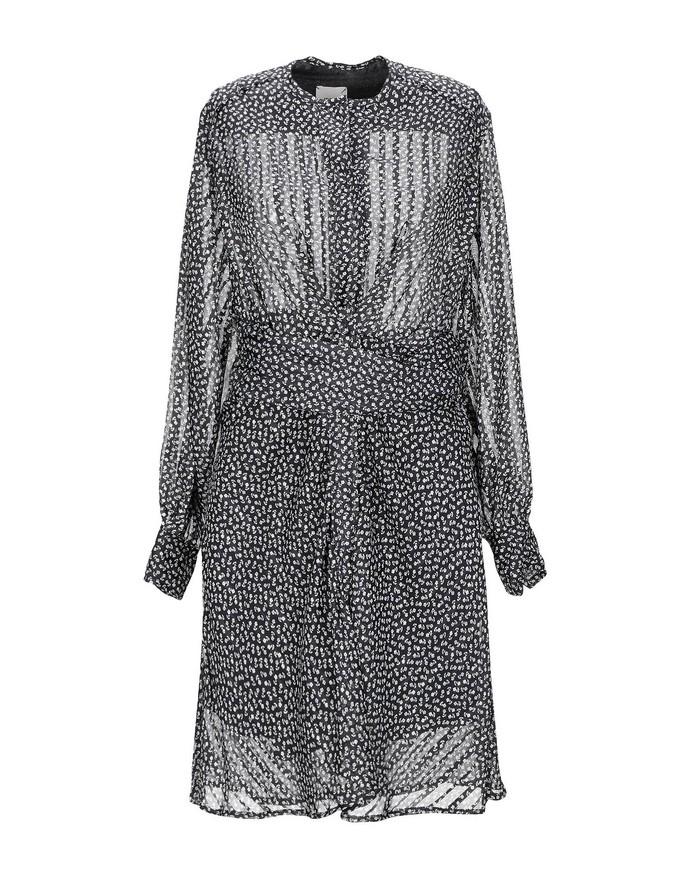 Φλοράλ wrap dress