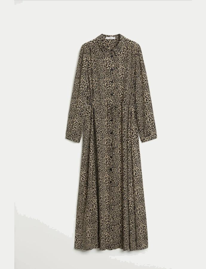 Printed μάξι φόρεμα