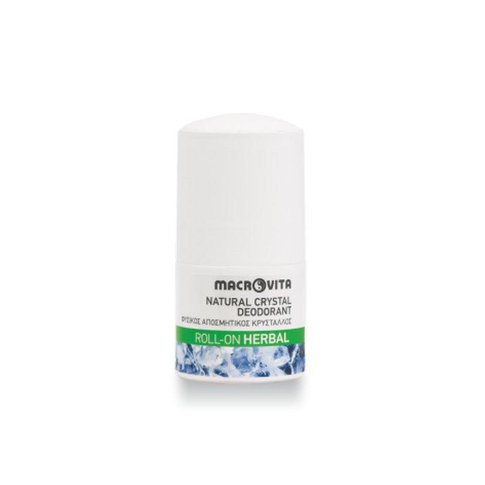 Φυσικός αποσμητικός κρύσταλλος roll-on Herbal