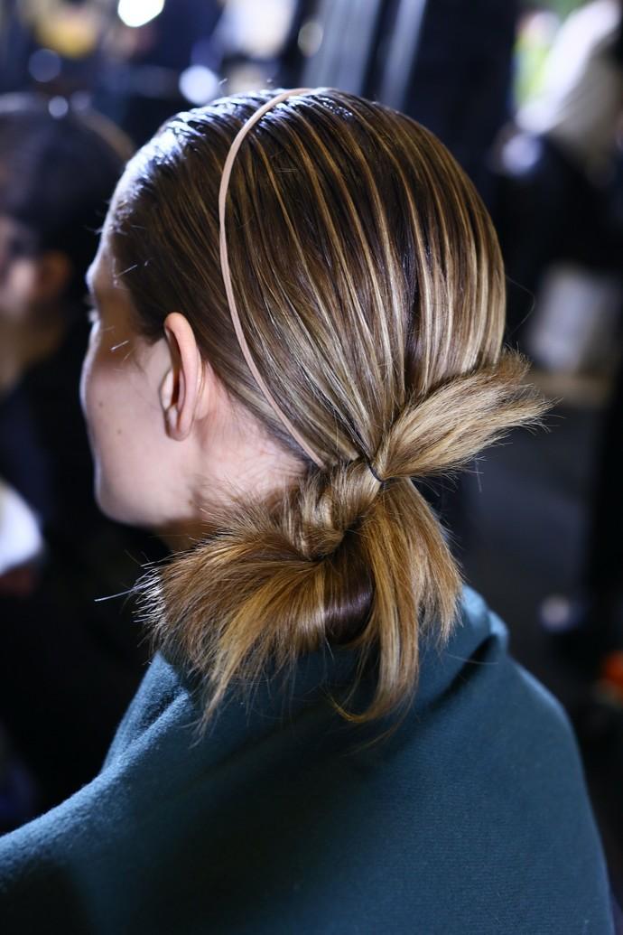 Μαλλιά Dion Lee Φθινόπωρο/Χειμώνας 2019
