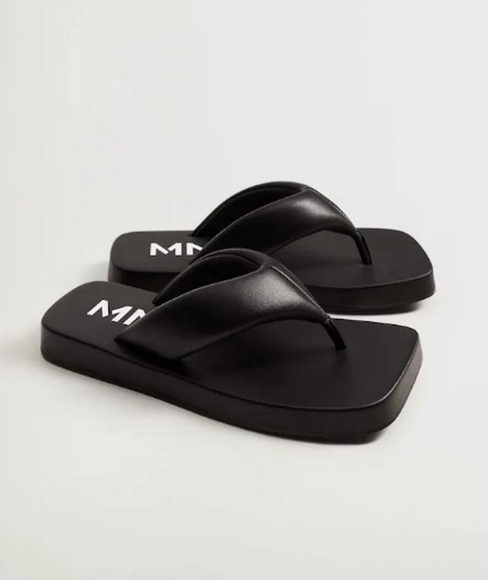 flip flops με πλατφόρμα