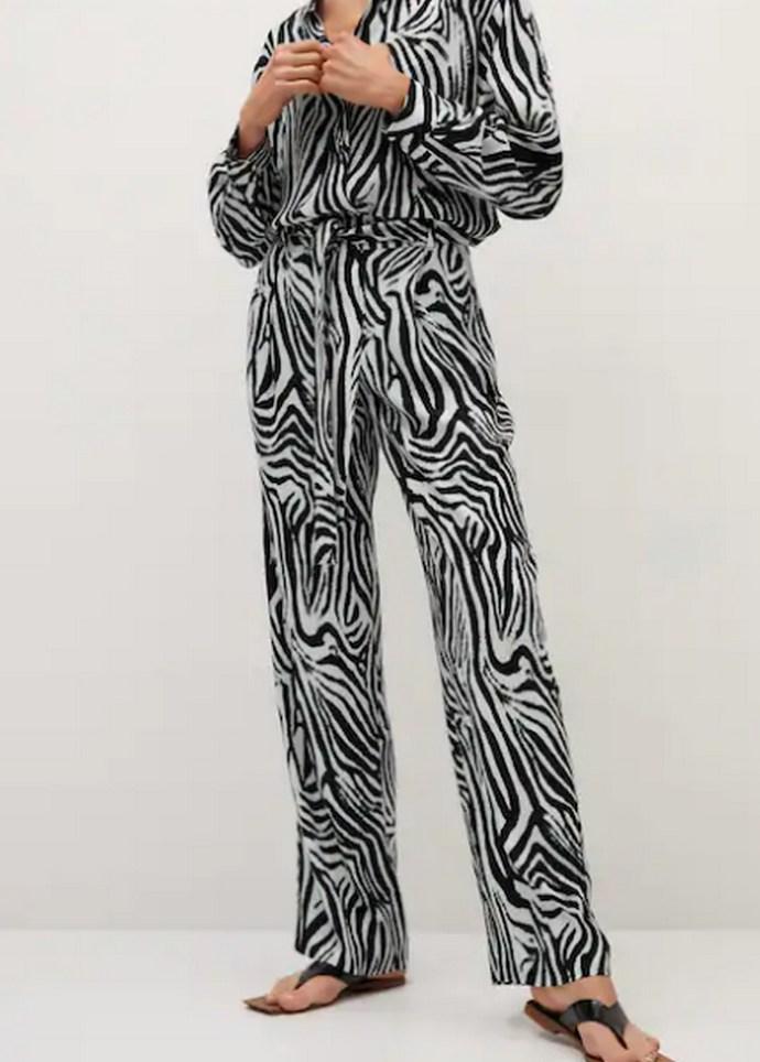 Πόπη Τσαπανίδου zebra print