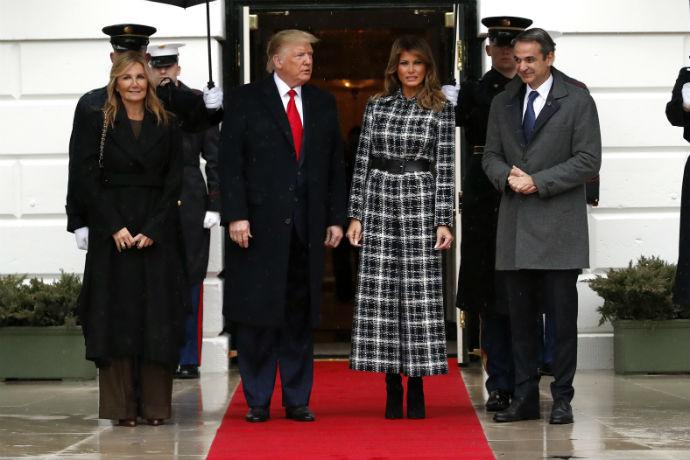 Μαρέβα Γκραμποφσκι-Μητσοτάκη Melania Trump
