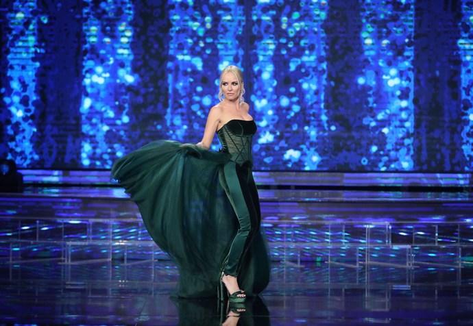 Μαρία Μπεκατώρου: Οι λεπτομέρειες της luxury εμφάνισής της στο 3o live του YFSF