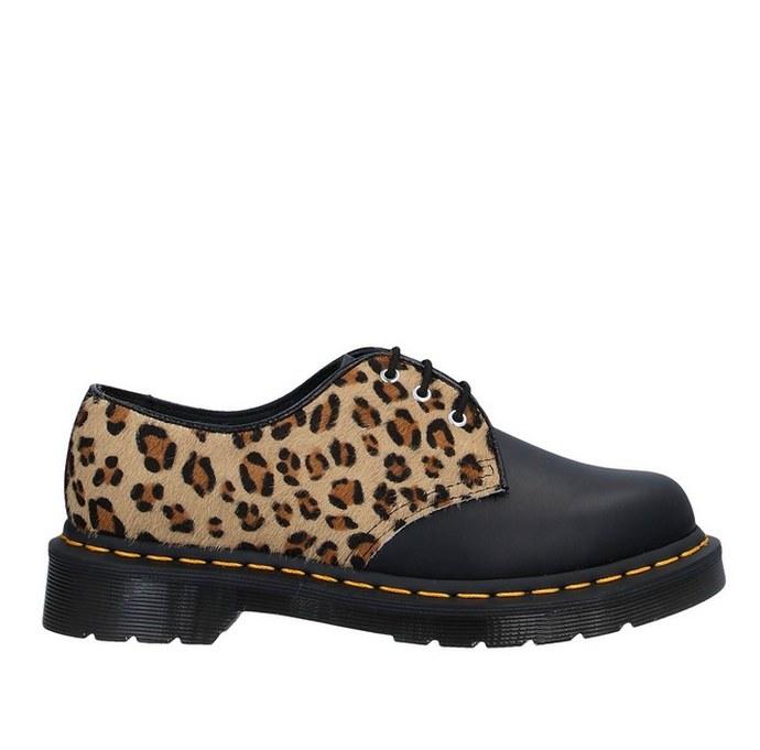 Παπούτσι lace up με συνδυασμό υφών
