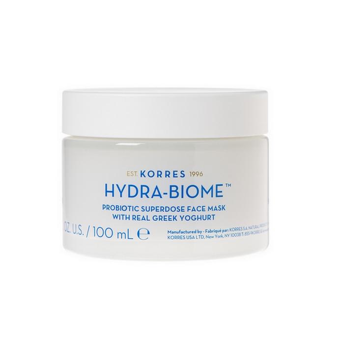 Korres Greek Yoghurt Hydra-Biome Superdose Προβιοτικών Μάσκα Προσώπου