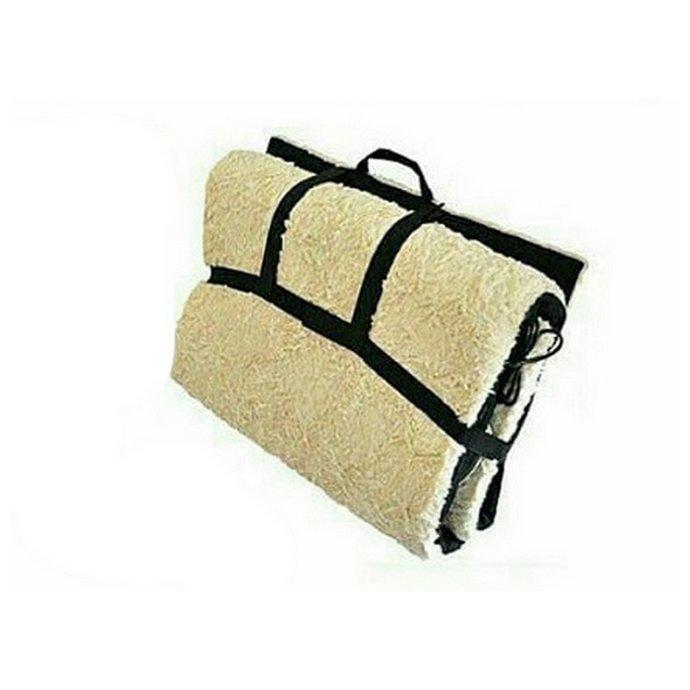 Θερμαινόμενη Κουβέρτα/στρώμα Μασάζ Διπλής Όψης Με 9 Προγράμματα - Massage Double Side Sheepskin