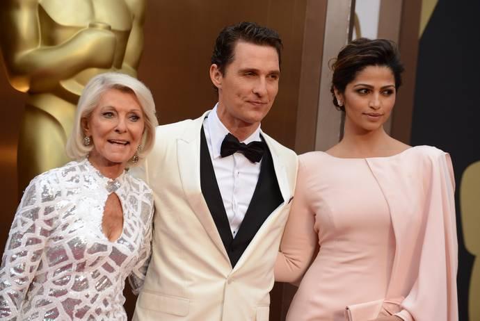 Matthew McConaughey γονείς