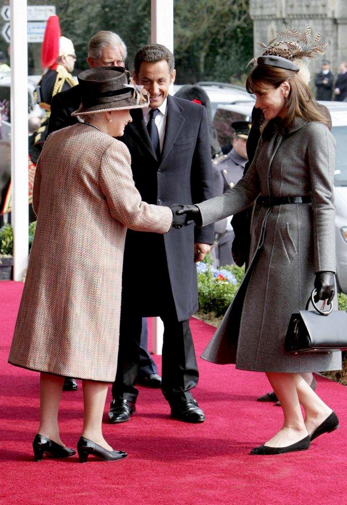 συναντήσει την βασίλισσα Ελισάβετ