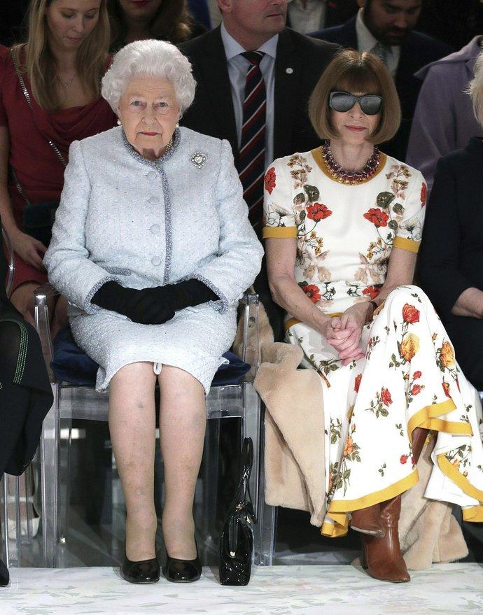 συνάντηση με την βασίλισσα Ελισάβετ