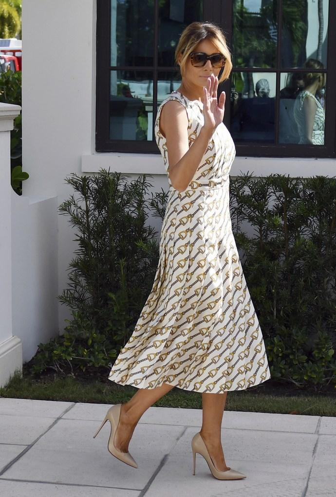 Melania Trump Gucci