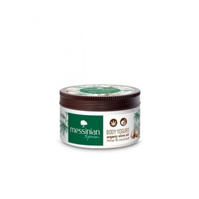 Body lotion με έλαιο κάνναβης και καρύδας Messinian Spa