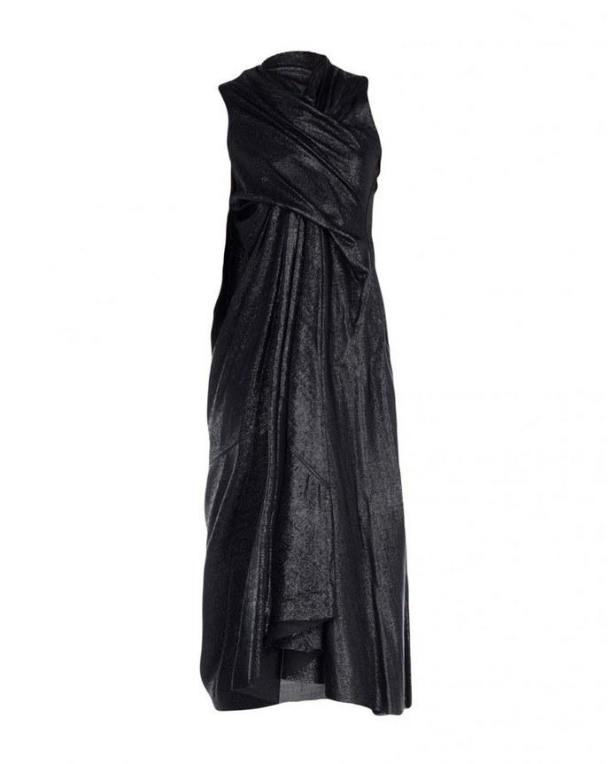 Ντραπέ μίντι φόρεμα