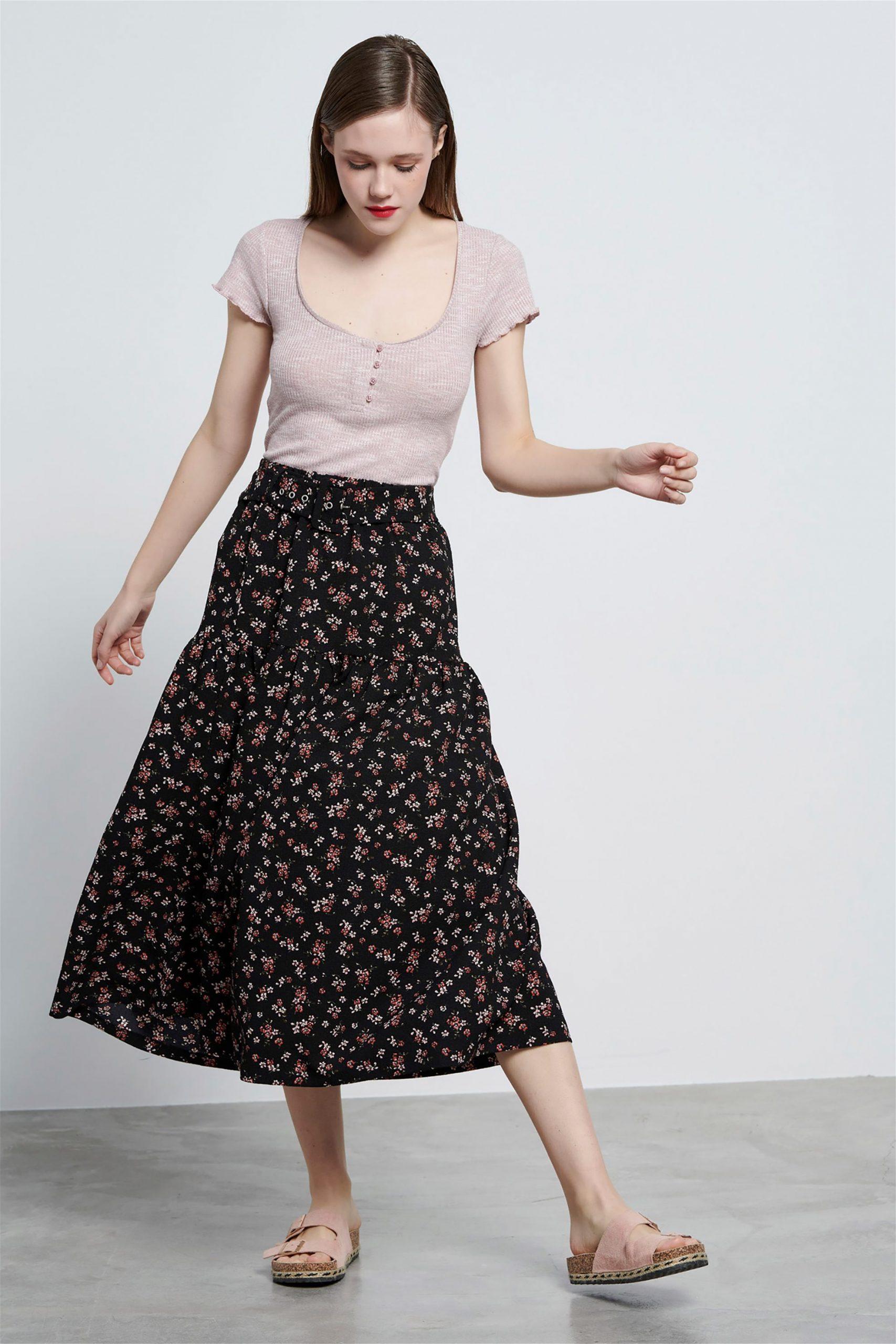 Φλοράλ φούστα